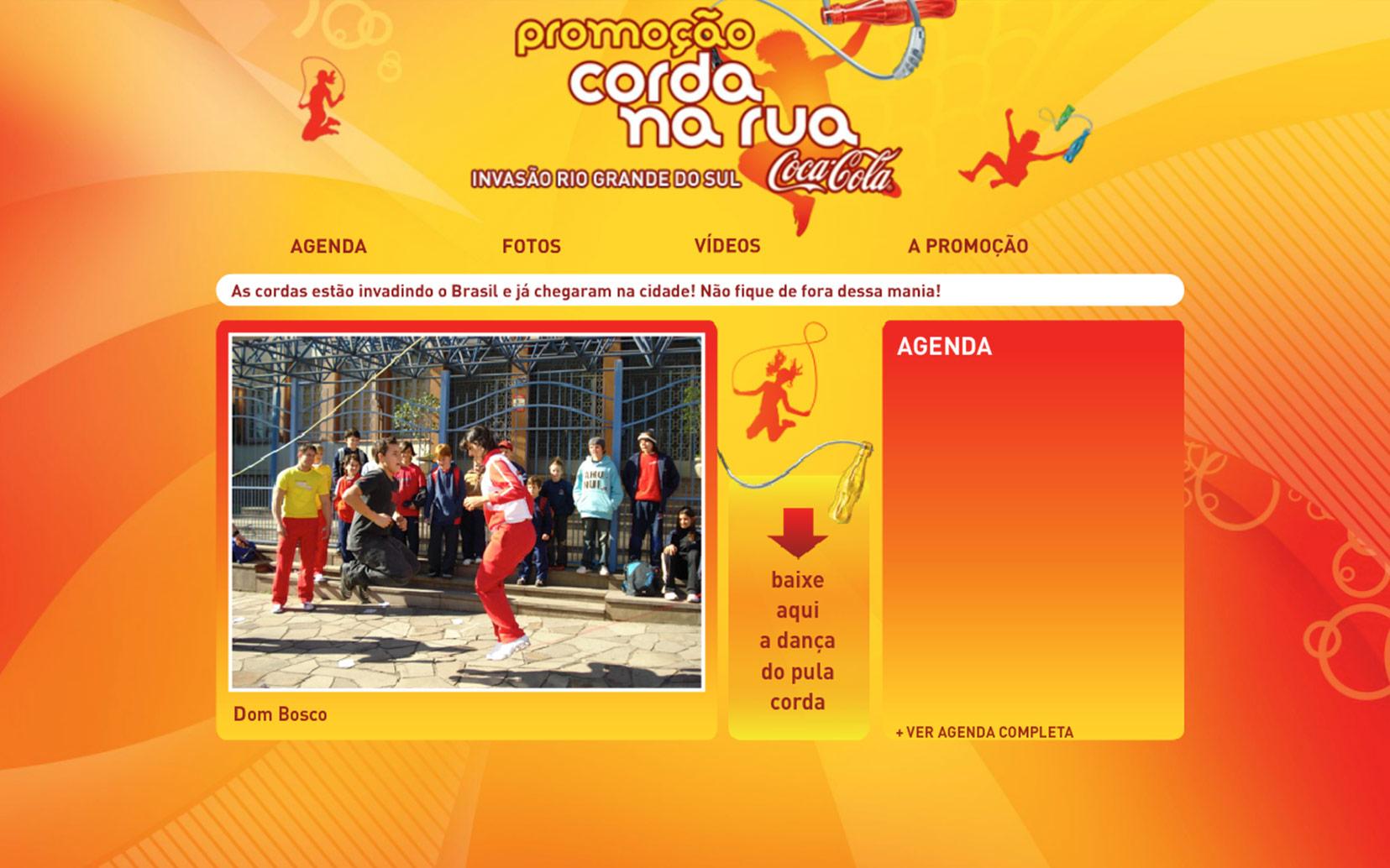 Coca-Cola   Corda na Rua