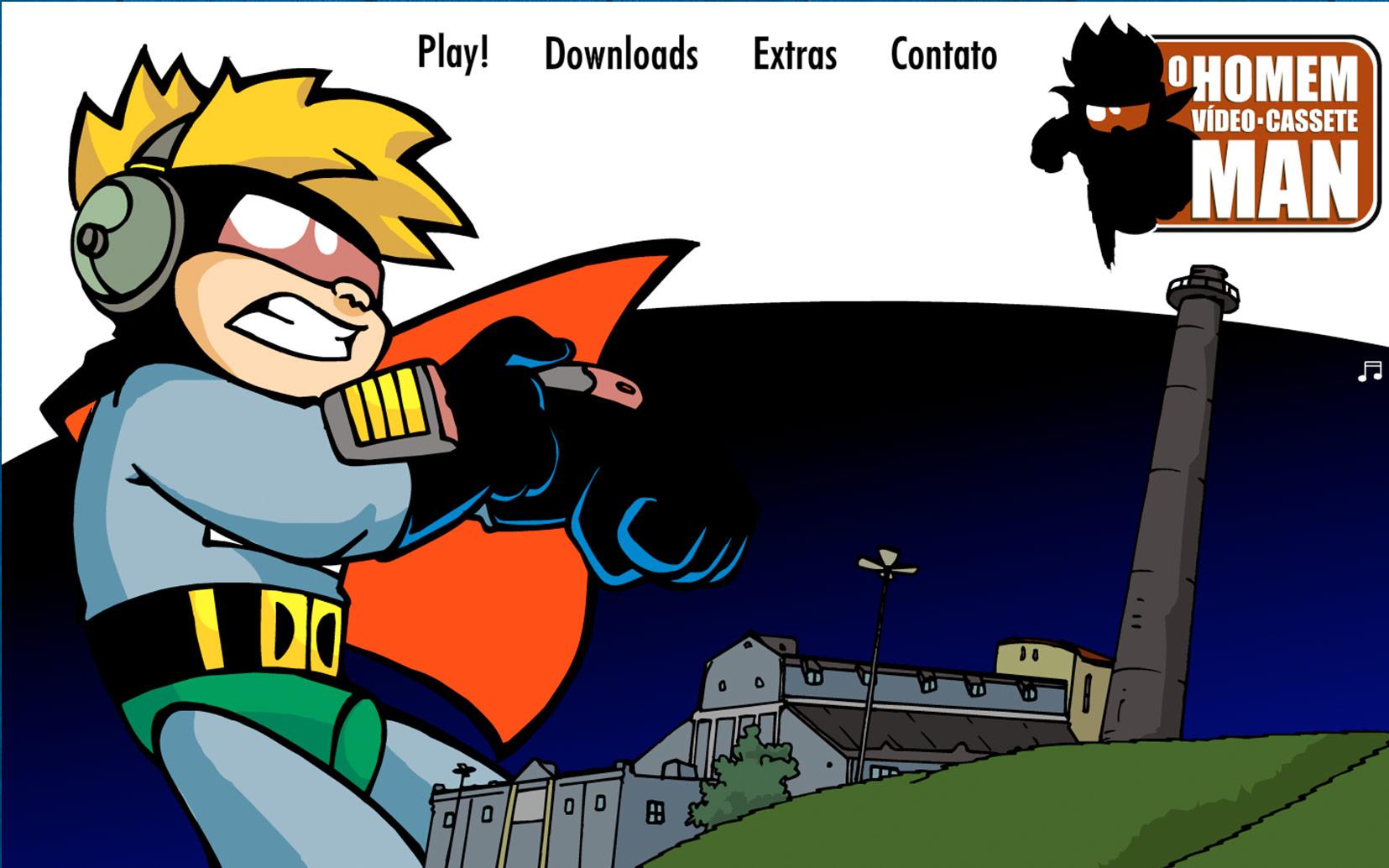 Animation: El Hombre VHSman