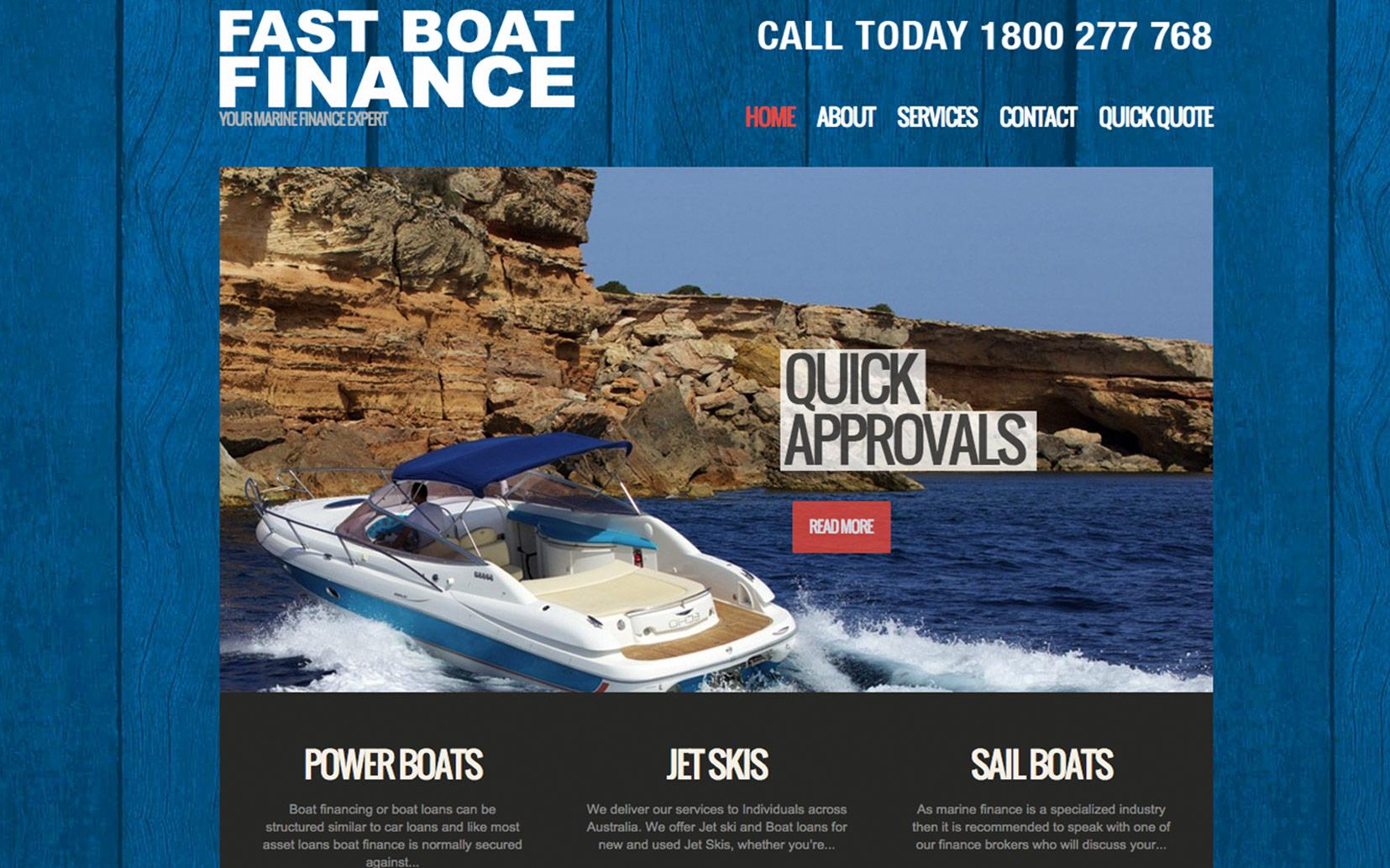 Fast Boat Finance